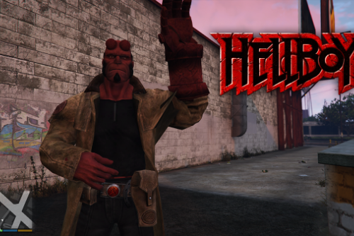 HellBoy [Add-On Ped]