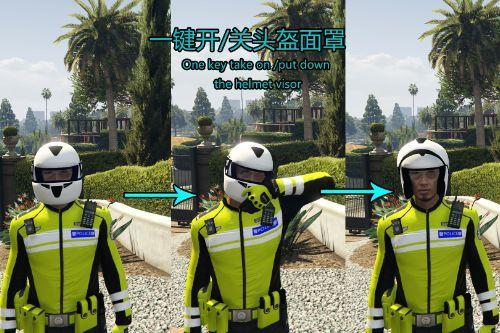 头盔自动切换器 Helmet Auto Changer