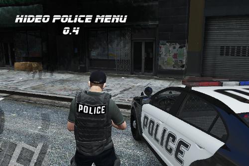 Hideo Police Menu