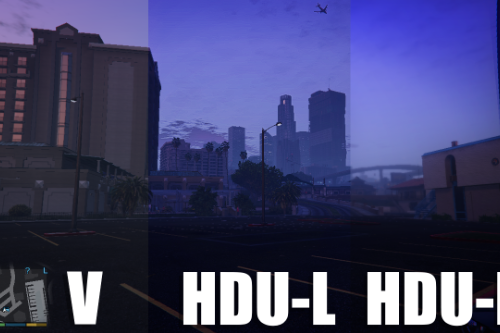 High-Definition Ultra settings - Low and Medium - RESHADE