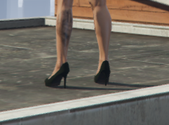 High heels textures for mp female