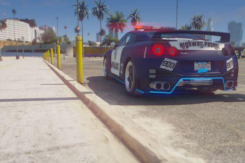 High Speed Chaser handling for NISSAN GT-R (R35) NISMO POLICE EDITION by Rmod Customs