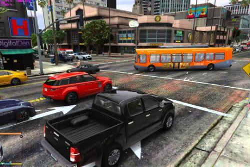 High vehicle density for GTA 5  [for latest version of game]