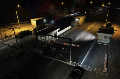 Highway Checkpoint POLICE [Menyoo / FiveM friendly] ENG/GER/TR