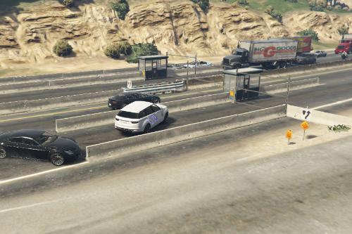 Highway Checkpoint [YMAP/XML/FiveM]