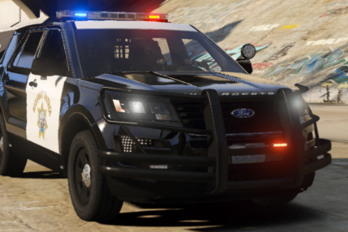 Highway Patrol Ford Explorer 2016 Police
