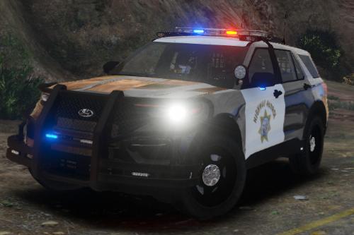 Highway Patrol Ford Explorer 2020 Police