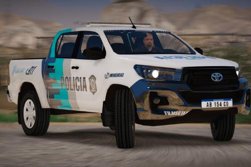 HILUX POLICIA BONAERENSE ARG