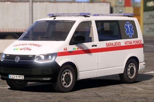 Hitna Pomoć Sarajevo - Volkswagen Transporter - ZHMPKS