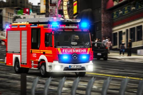 HLF Berufsfeuerwehr München | MB Atego [ELS] Replace