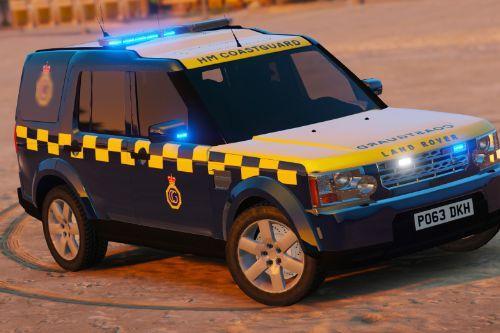 HM Coastguard Land Rover Discovery 4
