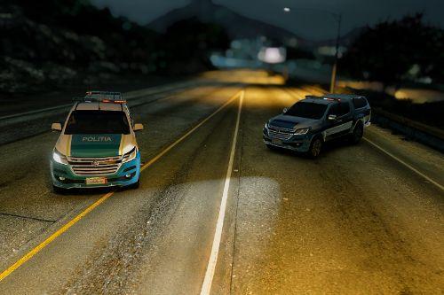 Holden Colorado 2 models - Politia Romana -