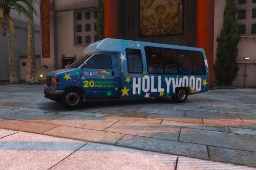 Hollywood Skin for Tour Bus