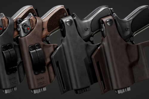 Holster Walther P88 [2K][EUP]