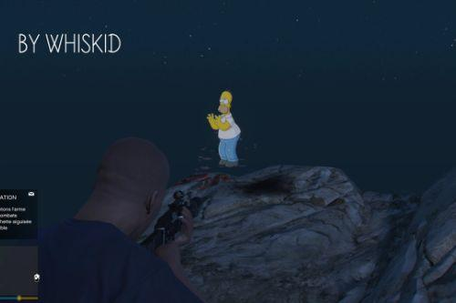 Homer Simpson's Ghost