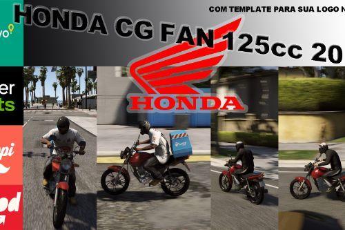 HONDA CG FAN 125cc DELIVERY