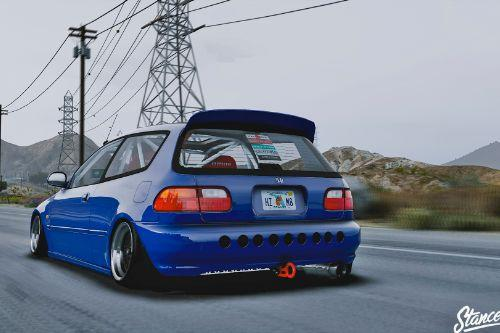 Honda Civic EG6 Stance [Tuning / Replace]