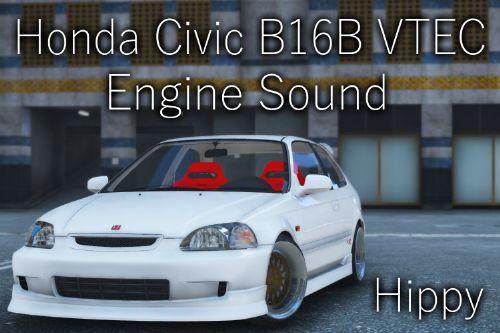 Honda Civic B16B VTEC Engine Sound