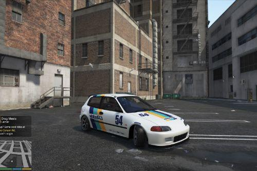 Honda Civic EG6 livery pack (Greddy/Street)