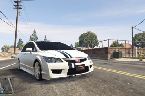 Honda Civic Type R (FD2) Livery