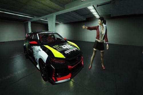 Honda Civic Type-R Livery