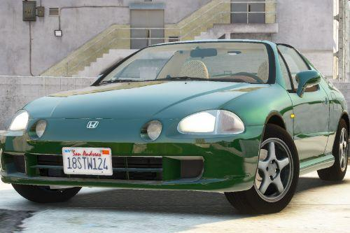 Honda CR-X Del Sol 1997 [Add-On | Tuning | LODs | Template]