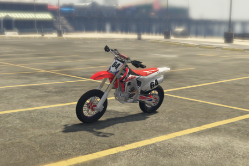 Honda CR450F Supermoto 64