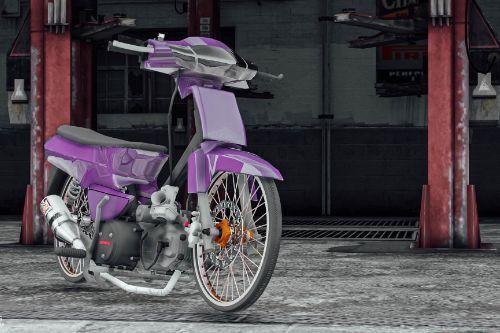 Honda Dream supercup 125 drag Thailand [ Add-On / FiveM ]