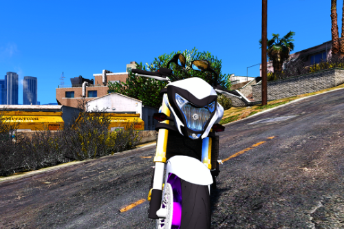 Honda Hornet 2012 [Add-on FiveM | Replace | Digital Dials]