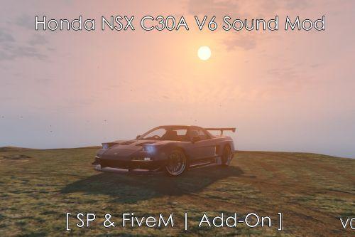 Honda NSX C30A V6 Sound Mod [Add-On /FiveM]