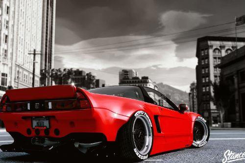Honda Nsx Rocketbunny [Add-On / Replace]