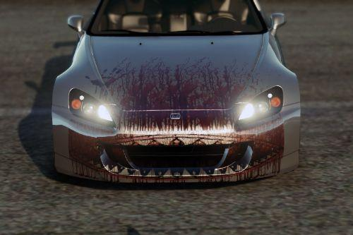"Honda S2000 AP2 ""Bloody Monster"" livery"