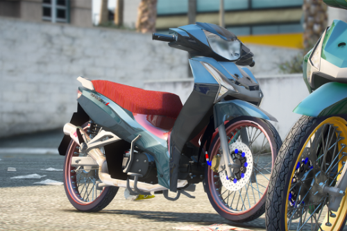 Honda Wave 125i 2018-2020 Stock&Grom version [Add-On / Tuning]