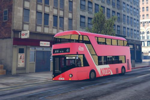 Hong Kong KMB Bus (Red version) 香港九龍巴士 (紅巴)