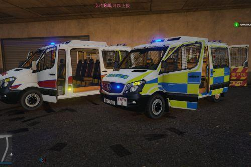 Hong Kong Police Car Eu Car Sprinter Replace