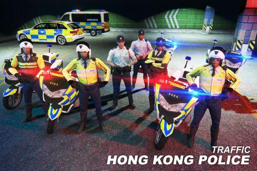 Hong Kong Police Traffic Police