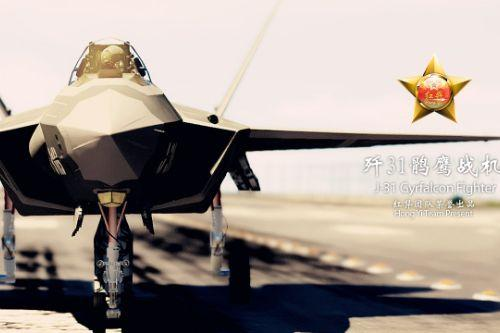 [Hong Yi Team] J-31 Gryfalcon Fighter Jet [Add-On / Replace]