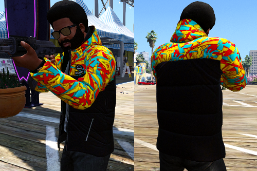 Hoodie Shirt [mp_m] For Franklin Pack[TH]
