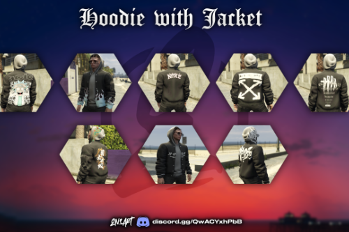 Hoodie with Jacket for MP Male