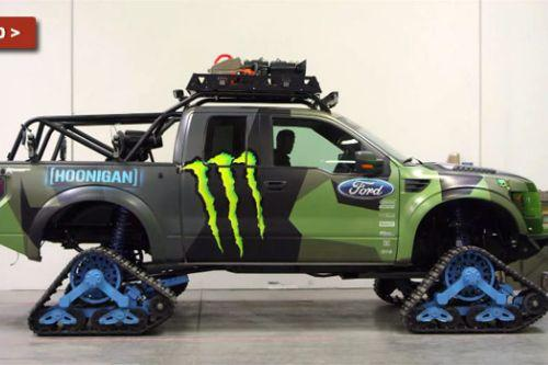 Hoonigan Paintjob for 2017 Ford Raptor on Mattracks by Godzgift