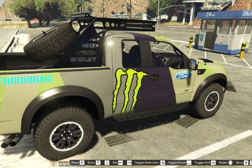 Hoonigan Raptor Paintjob