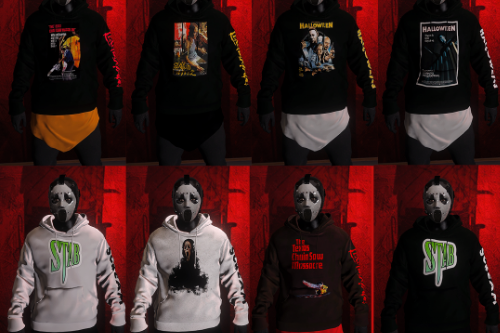 Horror Movie Hoodies Pac I