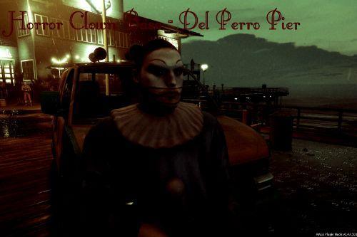 Horror Clown Base - Del Perro Pier