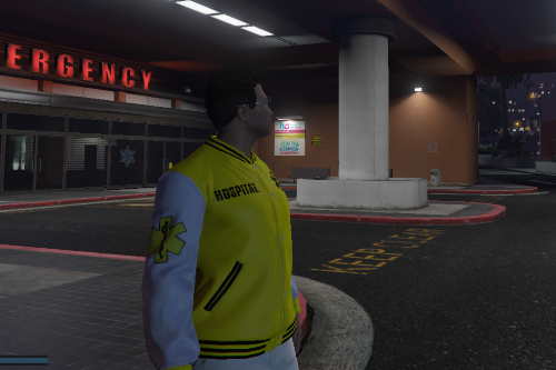 Hospital Jacket for MP Male
