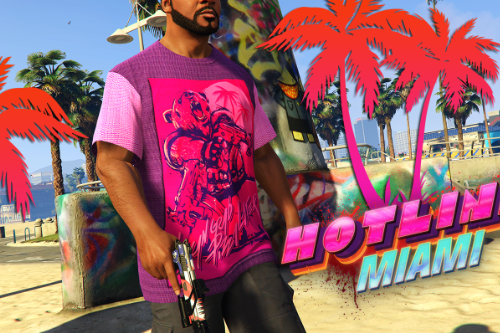 Hotline Miami T-Shirt for Franklin