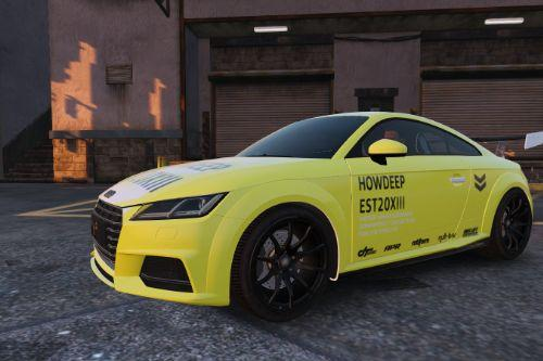 Audi TTS - Howdeep EST20XIII - Downforce 2 Collection Design [Paintjob]