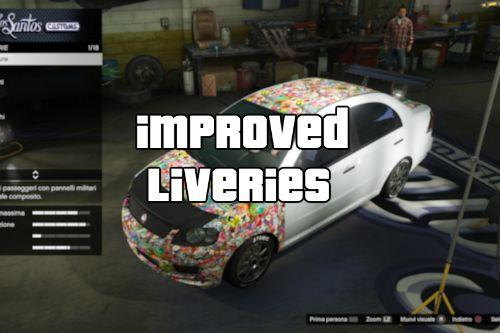 Improved Vanilla Liveries