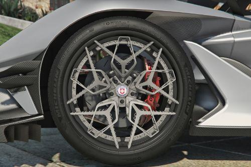 C16bed hre3d+ wheel by gta5korn 01