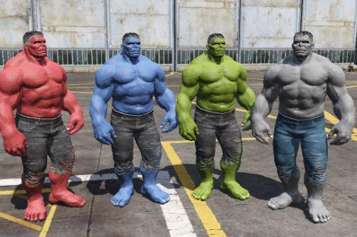 Hulk Pack (Retexture)