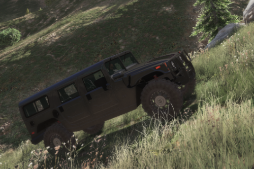 Hummer H1 Realistic Off-Road handling!